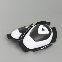 REV'IT! Dual Comp Knee Sliders White/Black