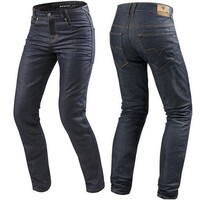 REV'IT! Lombard 2 RF Jeans Standard Leg Dark Blue