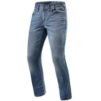 REV'IT! Brentwood SF Jeans Standard Leg Classic Blue