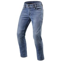 REV'IT! Detroit TF Jeans Short Leg Classic Blue