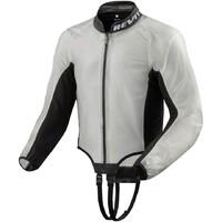 REV'IT! Trackmaster H20 Rain Jacket Transparent/Black