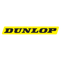 Factory Effex Dunlop Yellow/Black Stickers (5 Pack)