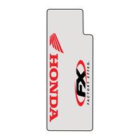 Factory Effex Clear Upper Fork Decals w/Red Honda Logo
