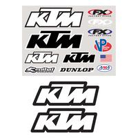 Factory Effex KTM Iron-On Rider Gear Kit
