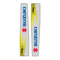 Factory Effex 14-42426 Swingarm Decals for Suzuki RM-Z250 04-06