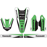 Factory Effex 19-50120 Trim Kit for Kawasaki KX125/250 04-08