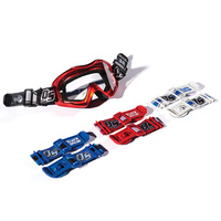 Factory Effex Quick Strap Red for most Goggles