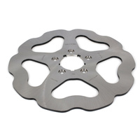 "Galfer USA GAL-DF680W 11.5"" Front Solid Mount Wave Disc Rotor for Big Twin/Sportster 00-14"