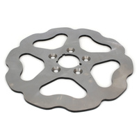 "Galfer USA GAL-DF682W 11.5"" Rear Solid Mount Wave Disc Rotor for Big Twin/Sportster 84-99"
