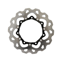 """Galfer USA GAL-DF834FLW 11.8"""" Front Wave Floating Disc Rotor Stailess Steel for FLH w/Agitator Wheel"""