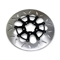 "Galfer USA GAL-DF835CV-C 11.8"" Disc Rotor FR Round Floating Rotor Blk BT'06up & XL'14up"
