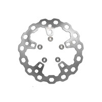 """Galfer USA GAL-DF838Q 11.8"""" Front Cubiq Disc Rotor Stainless Steel for Touring 14-Up w/OEM Wheel"""