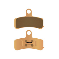 Galfer USA GAL-FD405G1370 HH Sintered Compound Front Brake Pads for Softail 08-14/Dyna 08-17