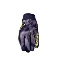 Five Globe Gloves Camo/Fluro Yellow