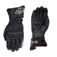 Five Race Girl Gloves Black/White