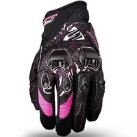 Five Stunt Evo Lady Gloves Black/Pink