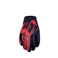 Five MXF 4 Gloves Red/Black