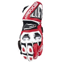 Five RFX-1 Race Gloves Red/White