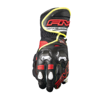 Five RFX-2 Airflow Gloves Black/Red/Yellow