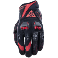Five Stunt Evo Gloves Black/Red