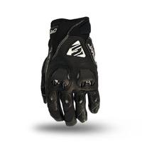 Five Stunt Evo Leather Gloves Black