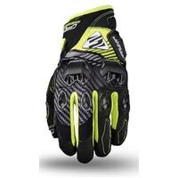 Five Stunt Evo Gloves Fibre/Fluro Yellow
