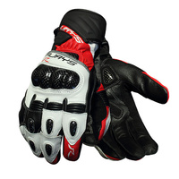 Rjays Long Cobra 2 Carbon Mens Gloves Red/White/Black
