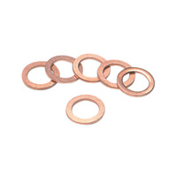 Goodridge GOO-P44518-6 Banjo Cush Washer 12mm Copper