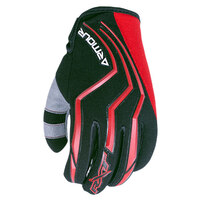RXT Dirt Armour Gloves Red/Black