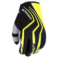 RXT Dirt Armour Junior Gloves Fluro Yellow/Black
