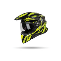 Airoh Commander Helmet Gloss Carbon/Yellow