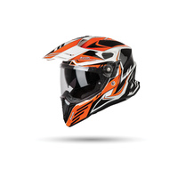 Airoh Commander Helmet Gloss Carbon/Orange