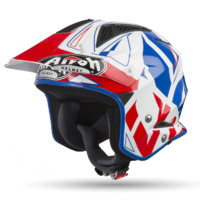 Airoh TRR-S Trial Helmet Convert Blue