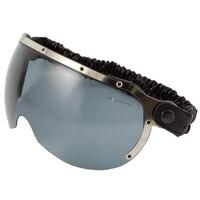 Airoh HAZV0103 Visor w/Strap Dark Smoke for Garage Helmets