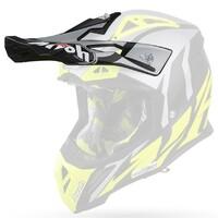 Airoh HAZV6054 Replacement Peak for Aviator 2.3 Helmets Great Matte Yellow