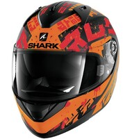 Shark Ridill Helmet Kengal Matte Black/Orange/Red