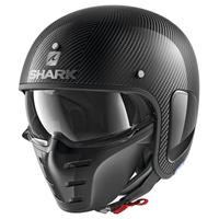 Shark S-Drak Carbon Helmet Carbon Skin/Silver/Black