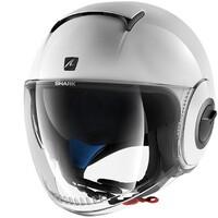 Shark Nano Helmet Blank White