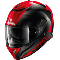 Shark Spartan Carbon Helmet Carbon Skin/Red