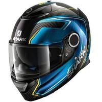 Shark Spartan Carbon Helmet Guintoli Carbon/Blue/Yellow