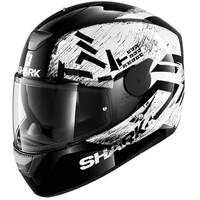 Shark D-Skwal Helmet Hiwo Black/White/Black