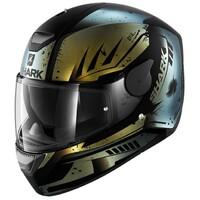 Shark D-Skwal Helmet Dharkov Matte Black/Green/Glitter