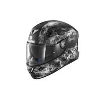 Shark Skwal 2 Helmet Hiya Matte Black/White/Black [Size:SM]