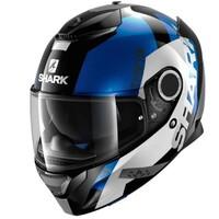 Shark Spartan Helmet Apics Black/White/Blue