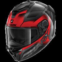 Shark Spartan GT Helmet Carbon Shestter Carbon/Red/Anthracite