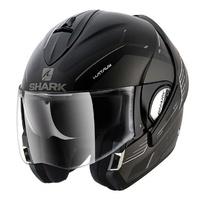 Shark Evoline Series 3 Helmet Hataum Matte Black/Anthracite/White