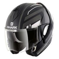 Shark Evoline Series 3 Helmet Corvus Matte Black/White/Anthracitehracite