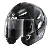 Shark Evoline Series 3 Helmet Shazer Black/White/White