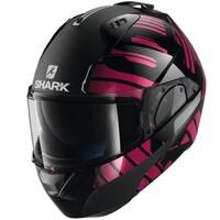 Shark Evo-One 2 Helmet Lithion Dual Gloss/Matte Black/Chrome/Violet