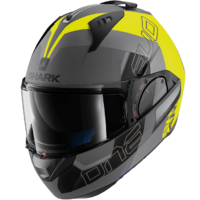 Shark Evo-One 2 Helmet Slasher Matte Anthracite/Yellow/Black